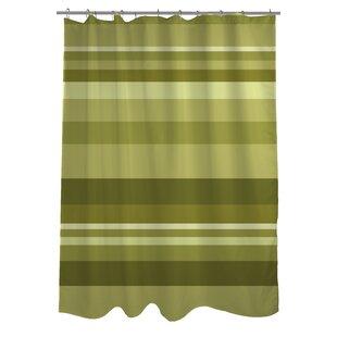 Compare prices Caroline Stripes Shower Curtain ByOne Bella Casa
