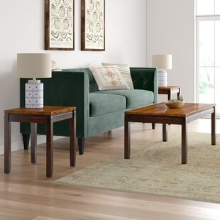 Millwood Pines Hidalgo 3 Piece Coffee Table Set