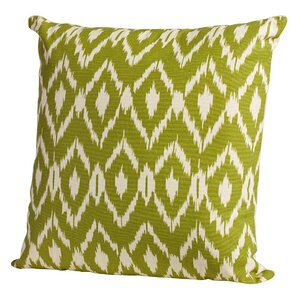 harrell ikat cotton throw pillow