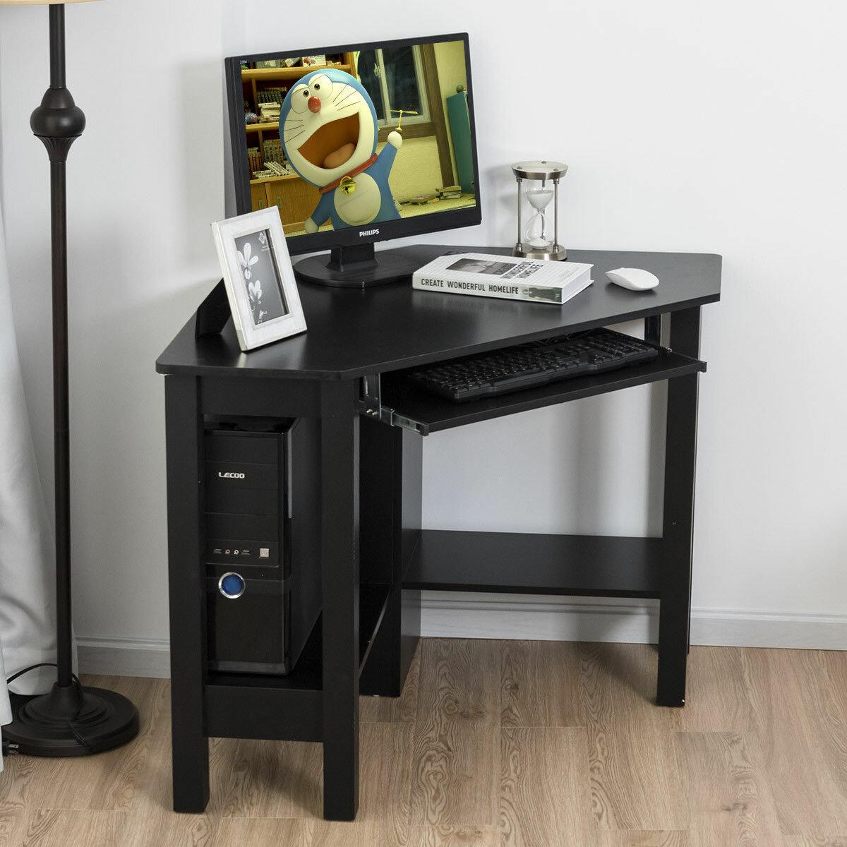 Winston porter kessler corner computer desk reviews wayfair