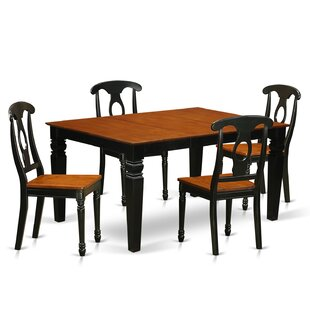 Beldon 5 Piece Dining Set DarHome Co