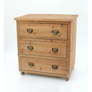 Lippa Wooden 3-Drawer Lateral Filing Cabinet