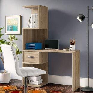 Ebern Designs Beres Desk with Hutch