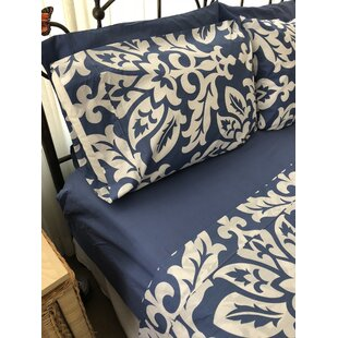 Bondurant Monterrey Damask 100% Cotton Sheet Set by Darby Home Co Best Design