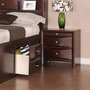 Shop For Teart 2 Drawer Nightstand By Latitude Run