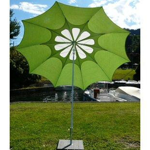 Sila 2.4m Beach Parasol By Sol 72 Outdoor