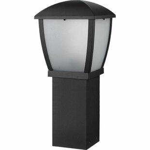 Dissay 1-Light Pedestal Light By Sol 72 Outdoor