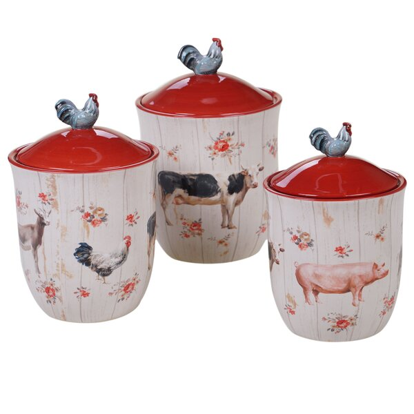 Farm House Canisters | Wayfair