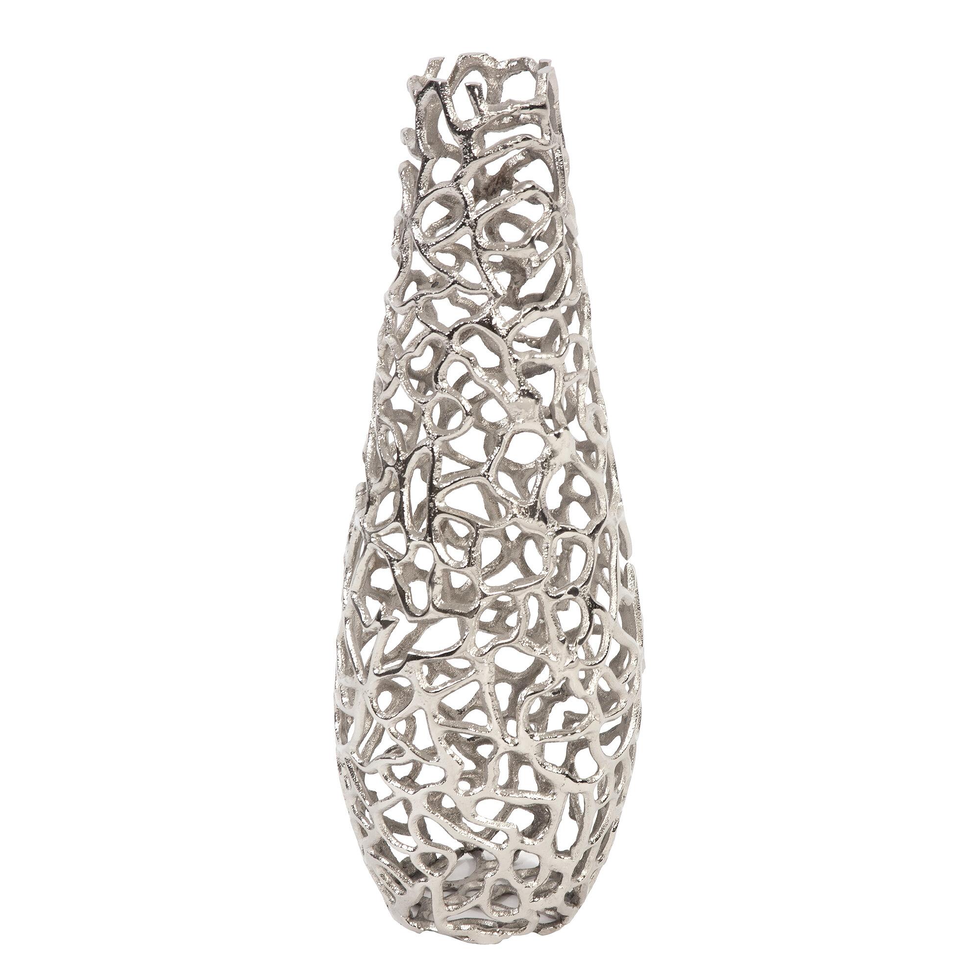 Wrought Studio Bratten Aluminum Branch Table Vase Reviews Wayfair