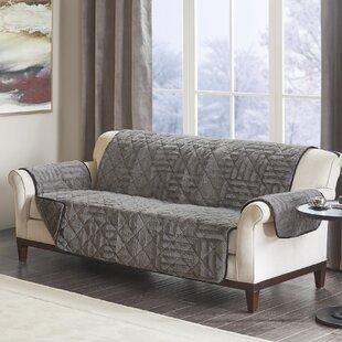 Arctic Checkboard Sofa Slipcover