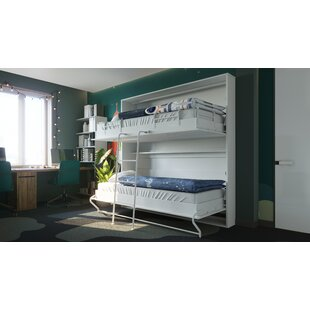 Twin Low Profile Murphy Bed with Mattress