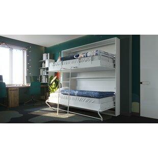 Twin Low Profile Murphy Bed with Mattress by Orren Ellis