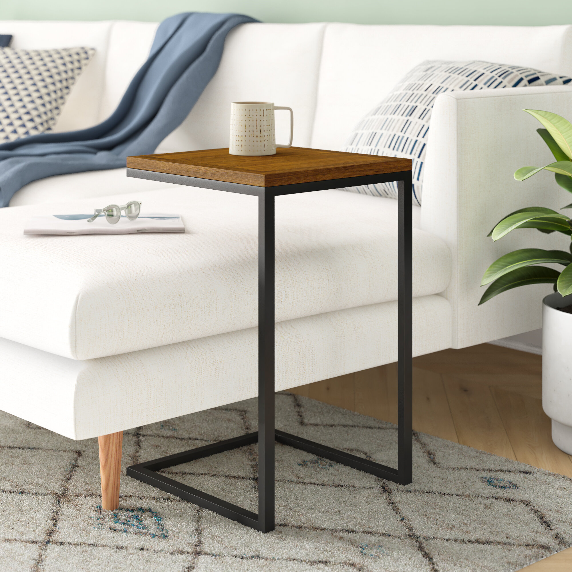 Rectangle Wade Logan End Side Tables You Ll Love In 2021 Wayfair