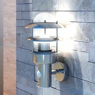 Hoosier Outdoor Wall Light With Motion Sensor By Brayden Studio
