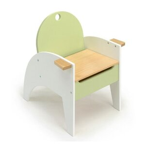 Hide-n-Sit Kids Novelty Chair with Storage Compartment by Offi