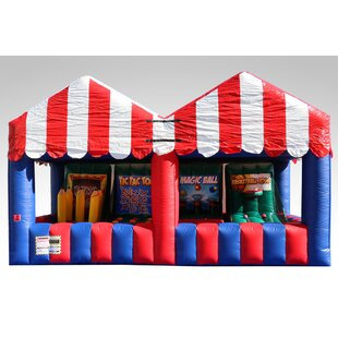 EZ Inflatables Carnival Game Bounce House
