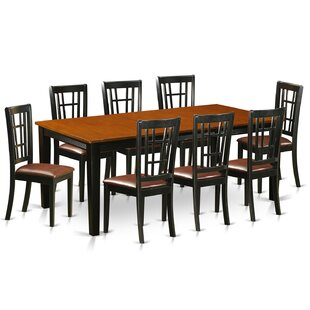 Pilger 9 Piece Extendable Dining Set August Grove