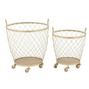 Basket Set on Wheels
