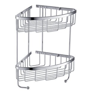 Fresca 2 Tier Wire Shower Caddy