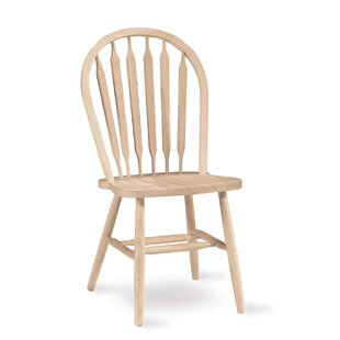 Lynn Arrowback Solid Wood Dining Chair by Mistana Fresh
