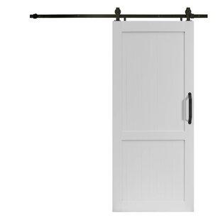 Millbrooke Hollow Panelled Plastic Interior Barn Door  sc 1 st  Wayfair & Barn Doors