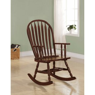 Keeler Rocking Chair by Winston Porter