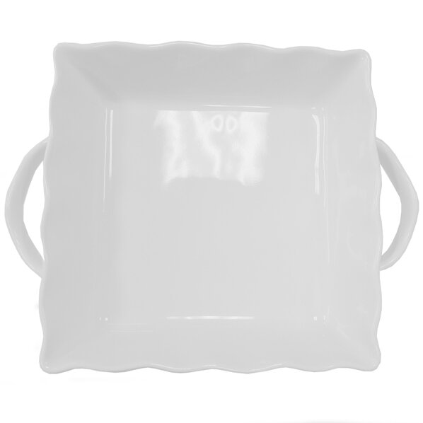 Square Ruffled Stoneware Bakeware