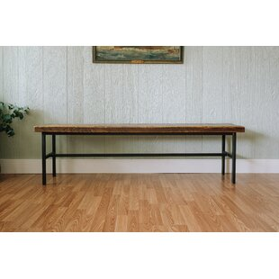 Napa East Collection Industrial Farm Metal Bench