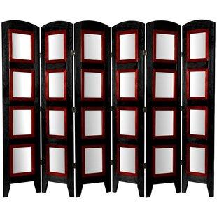 Saltz Shoji 6 Panel Room Divider by Bloomsbury Market