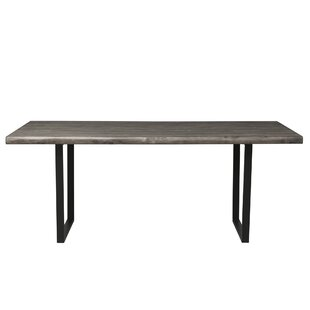 Union Rustic Leavens Trestle Dining Table