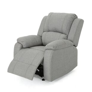 Sabra Manual Glider Recliner Red Barrel Studio