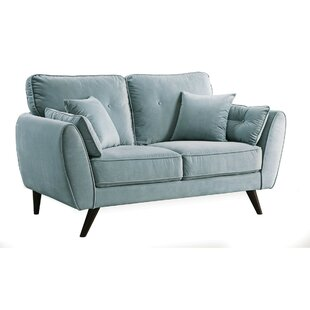Shop Mikole Contemporary Loveseat by Latitude Run