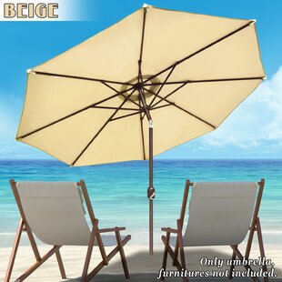 Patio New Garden 9' Market Umbrella by Strong Camel