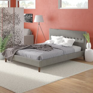 Moura Upholstered Platform Bed by Brayden Studio