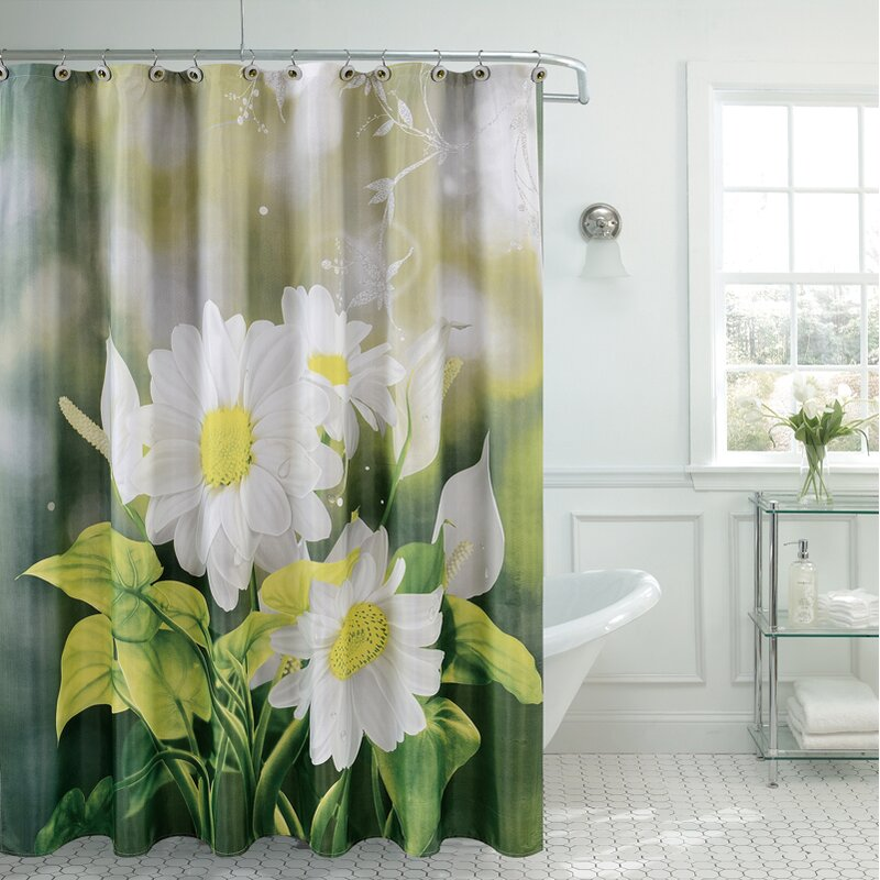 Fancy Daisy Single Shower Curtain