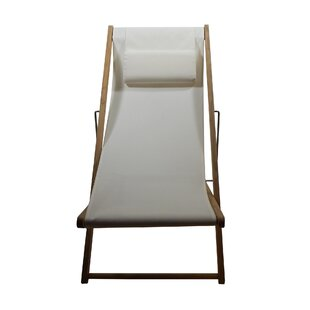 Grimes Reclining and Folding Beach Chair by Rosecliff Heights