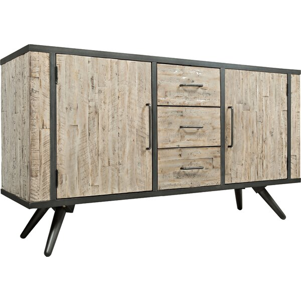 Union Rustic Shirlee Solid Wood Buffet Table & Reviews | Wayfair