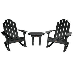 Classic Westport Adirondack Rocking Chairs (Set of 2) by Highwood USA