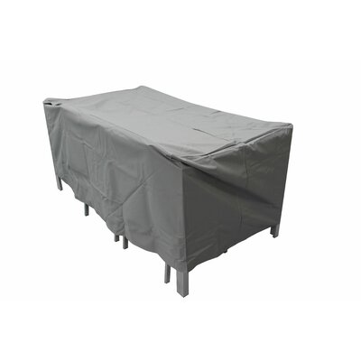 Brayden Studio Raincover Patio Dining Set Covers Size: 35H x 47W x 102D