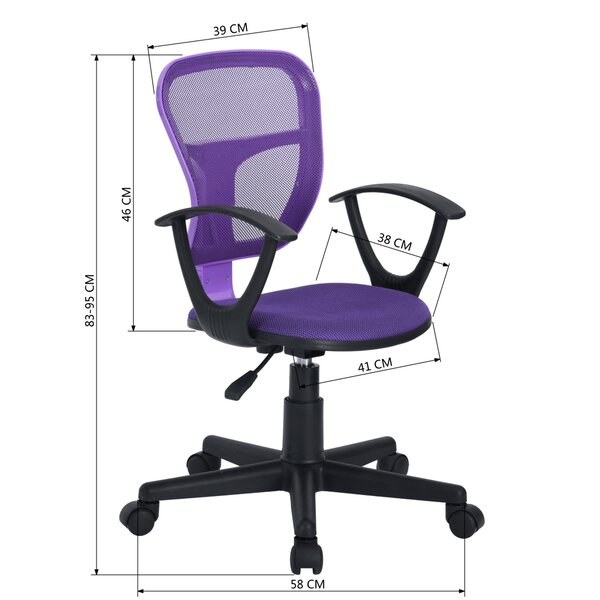 Symple Stuff Crescio Task Chair Reviews Wayfair