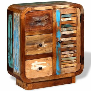 Theodora Solid Reclaimed Wood 3 Drawer Combi Chest By Williston Forge