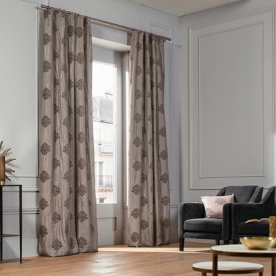 Gray And Silver Pinch Pleated Curtains Amp Drapes You Ll