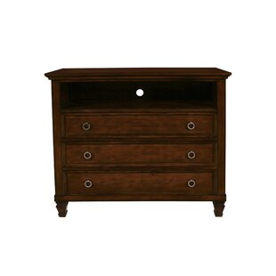 Jarvis 3 Drawer Standard Dresser/Chest