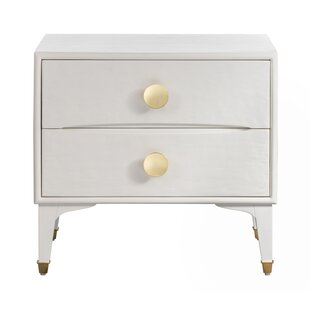 Stow 2 Drawer Nightstand by Everly Quinn