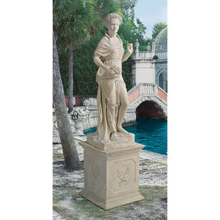 Design Toscano Goddesses of the Four Seasons Spring Statue and Plinth Set
