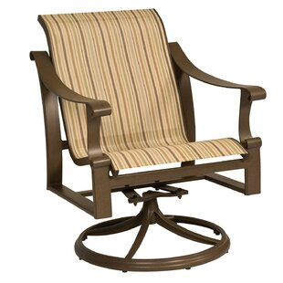 Bungalow Swivel Rocking Chair by Woodard #2