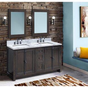 Rickard 55 Double Bathroom Vanity Set ByGracie Oaks