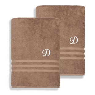 Denzi 100% Cotton Bath Towel (Set of 2)