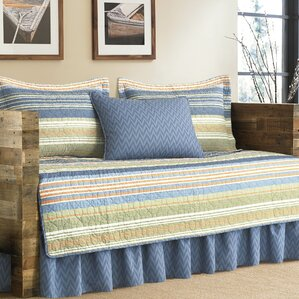 Daybed Covers Bedding Sets - Blue and brown daybed comforter sets