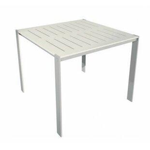 Modern Outdoor Luma Aluminum Bar Table
